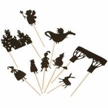 Castle Shadow Puppets On Sticks by Moulin Roty