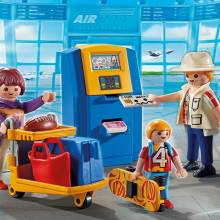 Family At Check-In City Action Playmobil 5399 4-10yrs