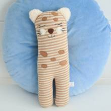 Charly Cheetah Knitted Soft Toy
