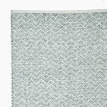 Chenille Dove Grey 150cm x 90cm Recycled Bottle Rug
