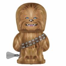 CHEWBACCA Star Wars Robot Bebot Wind Up Tin Toy