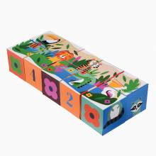 Colourful Creatures Puzzle Block Set