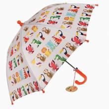 Colourful Creatures Children's Umbrella 3+