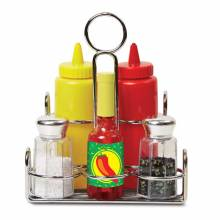 Condiment Play Set By Melissa & Doug 3+