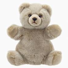 Teddy Bear Hand Puppet Soft Toy Cuddly Tumms 1+