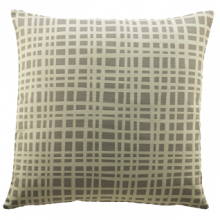 G Plan Vintage Grid Grey Scatter Cushion
