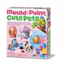 Mould & Paint Cute Pets Art Kit 5+