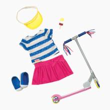 Cute To Scoot - Our Generation Clothes Set 3+