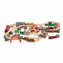 Deluxe Railway Set BRIO® Wooden Railway 3+