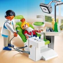 Dentist With Patient City Life Playmobil 6662 4-10yrs