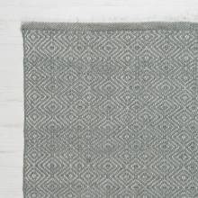 Diamond GREY 180 x 120cm Recycled Bottle Rug