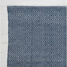Diamond NAVY 240x170cm Recycled Bottle Rug