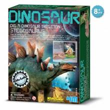 Dig A Stegosaurus Skeleton Kit - Kidz Labs 8+