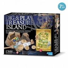 Dig And Play Treasure Island 8+