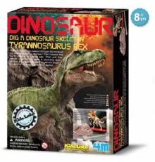 Dig A Tyrannosaurus-Rex Skeleton Kit - Kidz Labs 8+