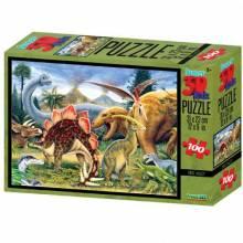 DINOSAUR VALLEY Super 3D Puzzle 150pc 5+