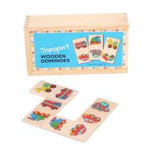 Wooden Childrens Picture Dominoes TRANSPORT 1+