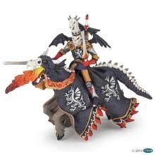 DRAGON WARRIOR AND HORSE Papo Fantasy Figure