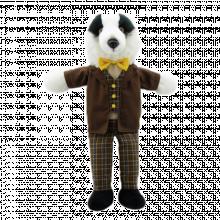 Badger Dressed Animal Puppet Soft Toy