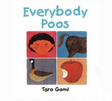 Everybody Poos Book By Taro Gomi (mini edition)
