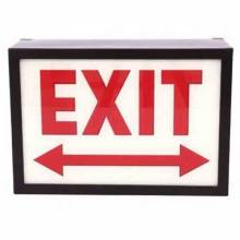 Exit Illuminated Sign Wall Mount Box Sign