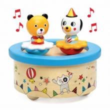 Spinning Bears Fantasy Music Box 12mth+