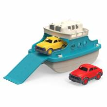 Ferry Boat With Cars Toy By Green Toys 3+