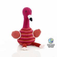 Flamingo Crochet Fair Trade Soft Toy 0+