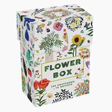 Flower Box: Set Of 100 Postcards