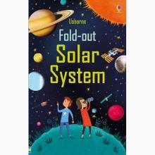 Fold Out Solar System - Paperback Book
