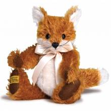 "Merrythought Mohair Freddy Fox 9"" Handmade UK"