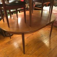 G-Plan Fresco Teak Oval Extending Dining Table