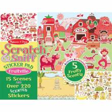 Fruitville Scratch And Sniff Sticker Pad By Melissa & Doug