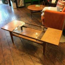 G Plan Teak Coffee Table with Glass