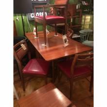 Teak Drop Leaf Gate Leg Dining Table