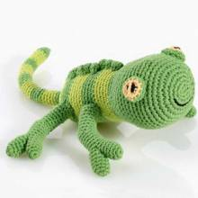 Gecko Fairtrade Crochet Soft Toy
