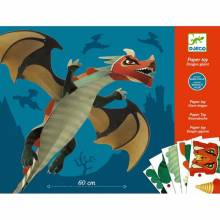 Giant Dragon - Paper Modelling Card Pack Toy By Djeco 9-15yrs