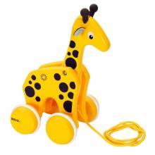 BRIO® Pull Along GIRAFFE (Yellow) 12mth+