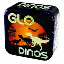 Glo Dinos Glow In The Dark Dinosaurs In A Tin