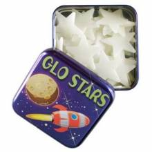 Glo Stars Glow In The Dark Stars In A Tin