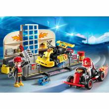 Go-Kart Garage Starter Set Playmobil 6869