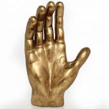 Giant Gold Hand