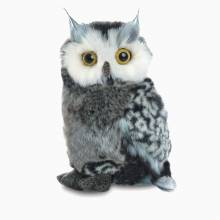 Great Horned Owl Flopsie Soft Toy 0+
