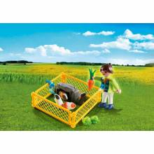 Girl With Guinea Pigs Playmobil Special Plus 4794