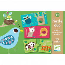Habitat Duo Puzzle From Djeco  2y+