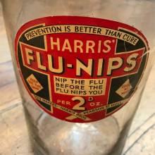 Harris Flu-Nips Vintage Sweet Jar