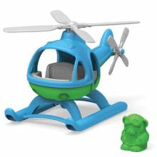 Blue Helicopter By Green Toys - Recycled Plastic 2+