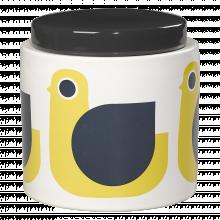 Hen Ceramic Storage Jar 1L By Orla Kiely