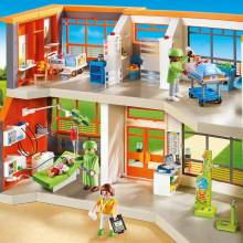Furnished Children's Hospital City Life Playmobil 6657 4-10yrs