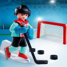 Ice Hockey Practice Playmobil 5383
